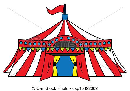 450x316 Carnival Tents Clipart