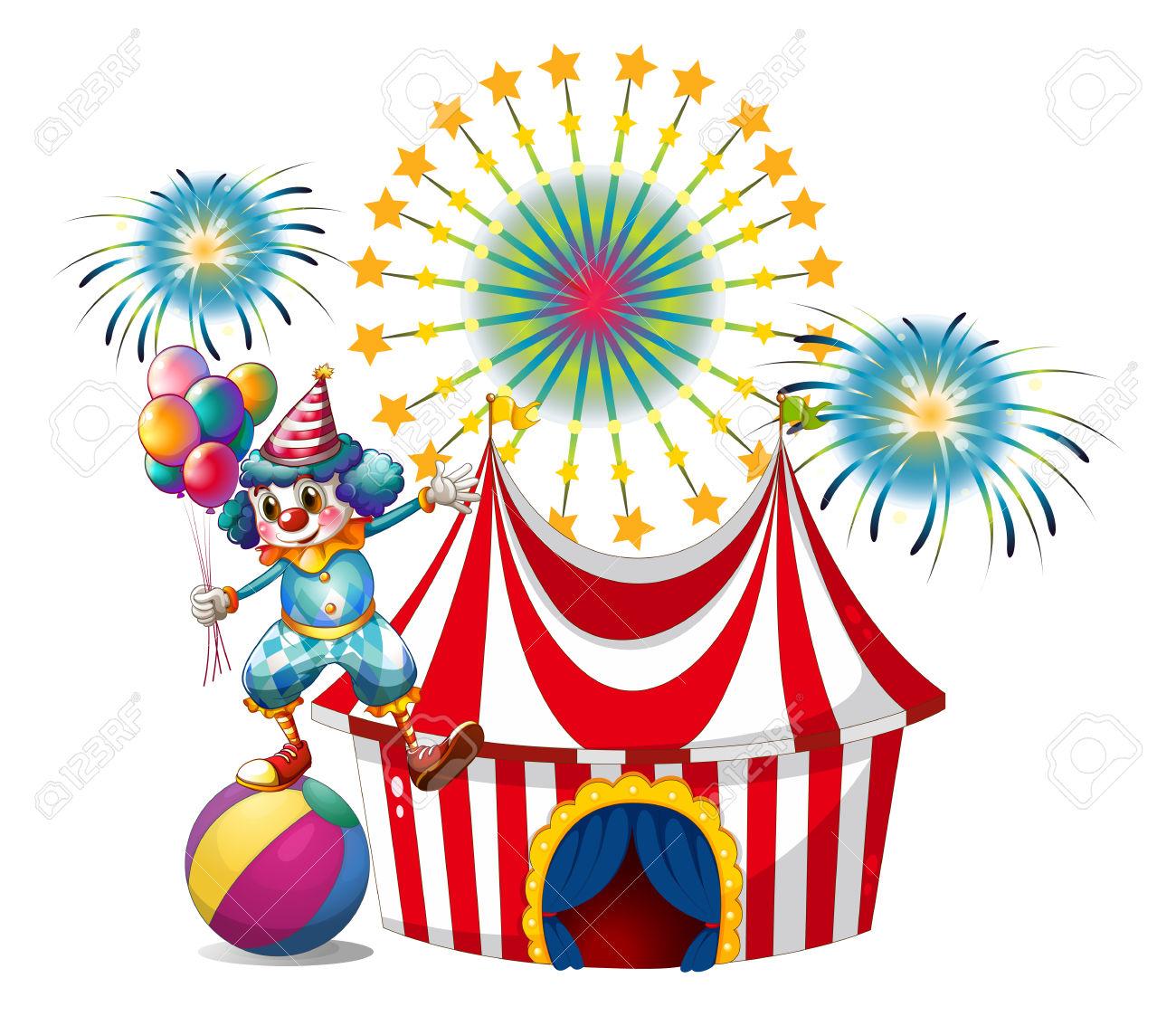 1300x1123 Balloon Clipart Carnival
