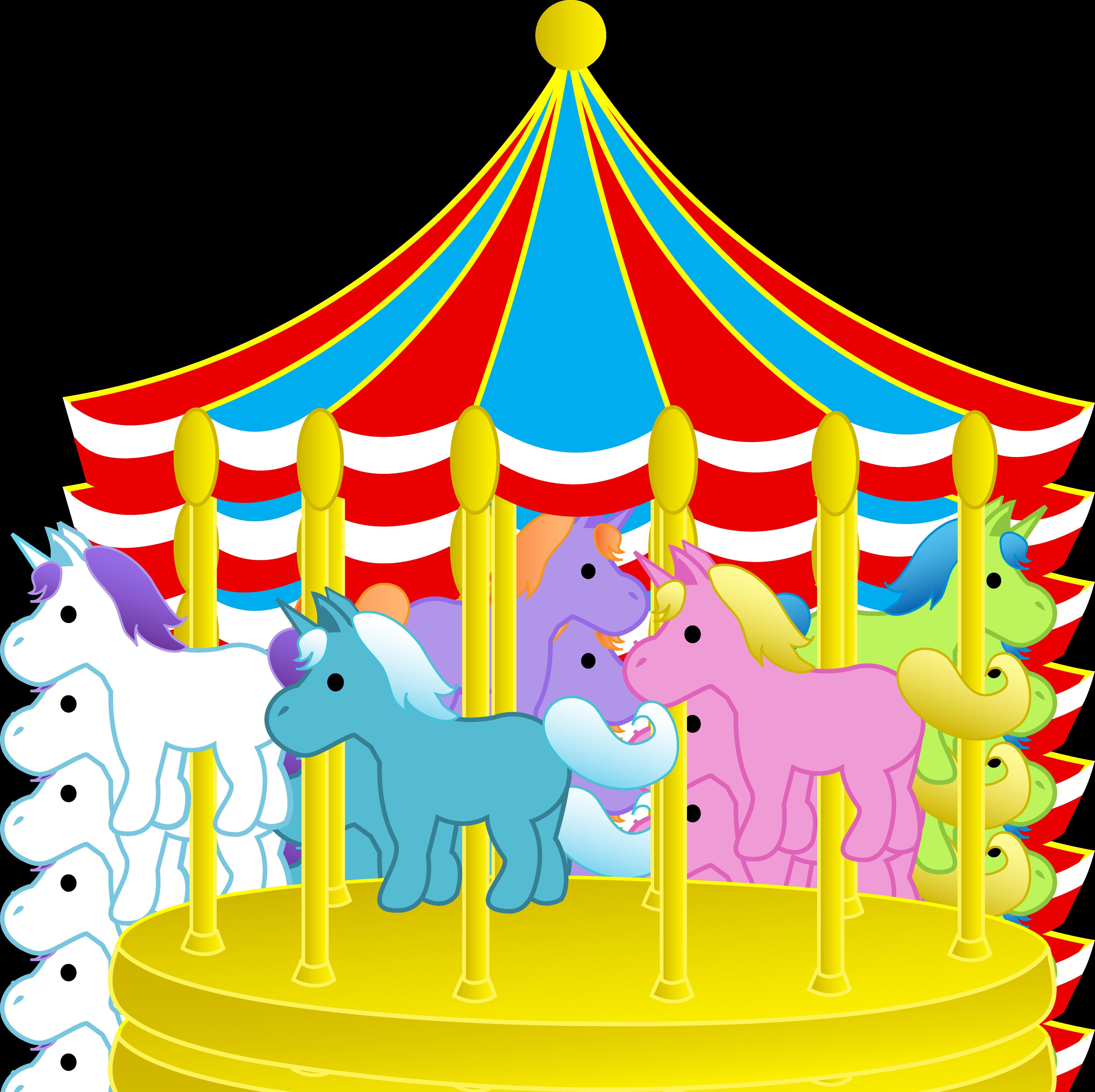 3999x3987 Best Carnival Clip Art