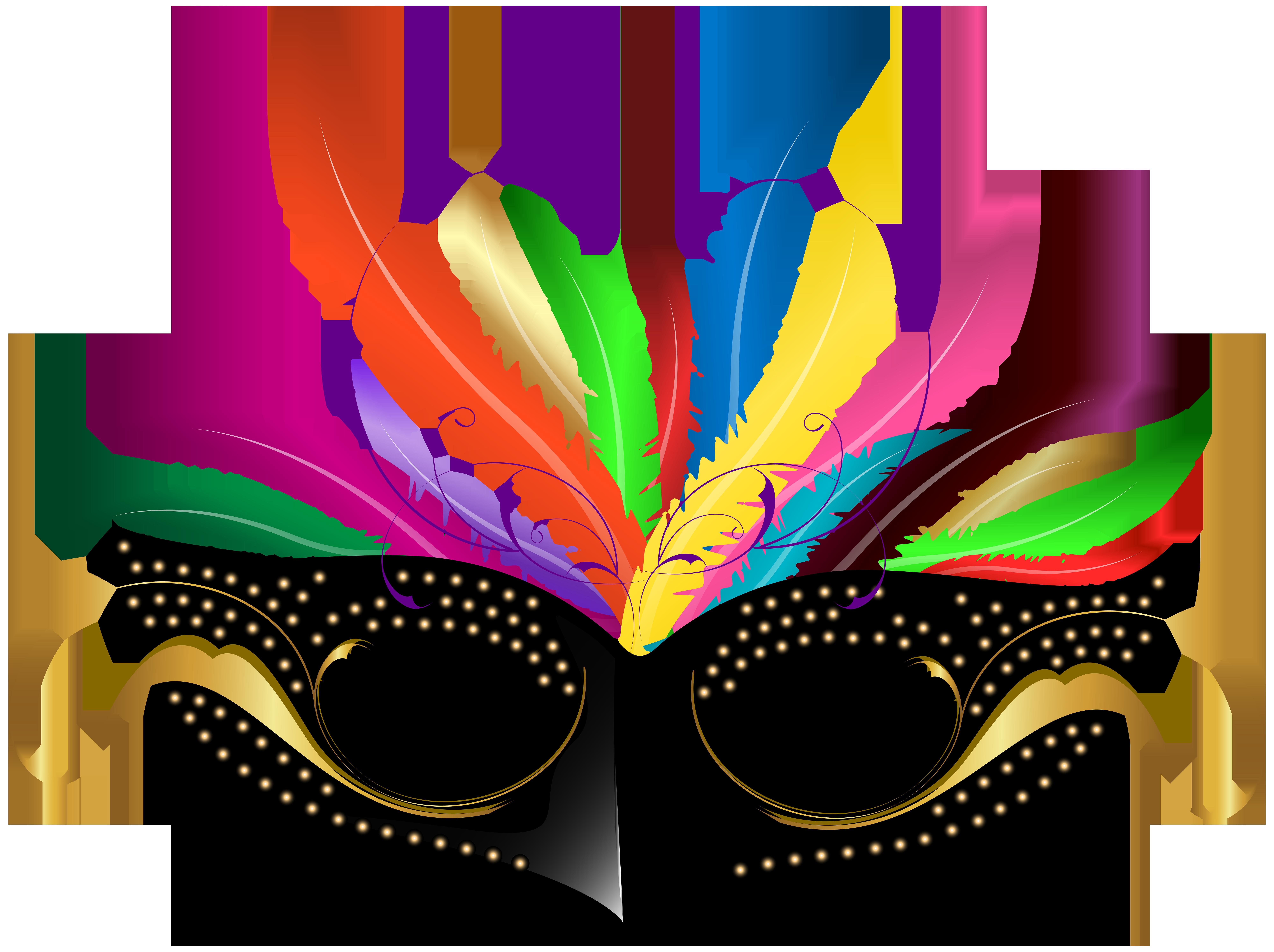 8000x5978 Carnival Mask Png Transparent Clip Art Imageu200b Gallery
