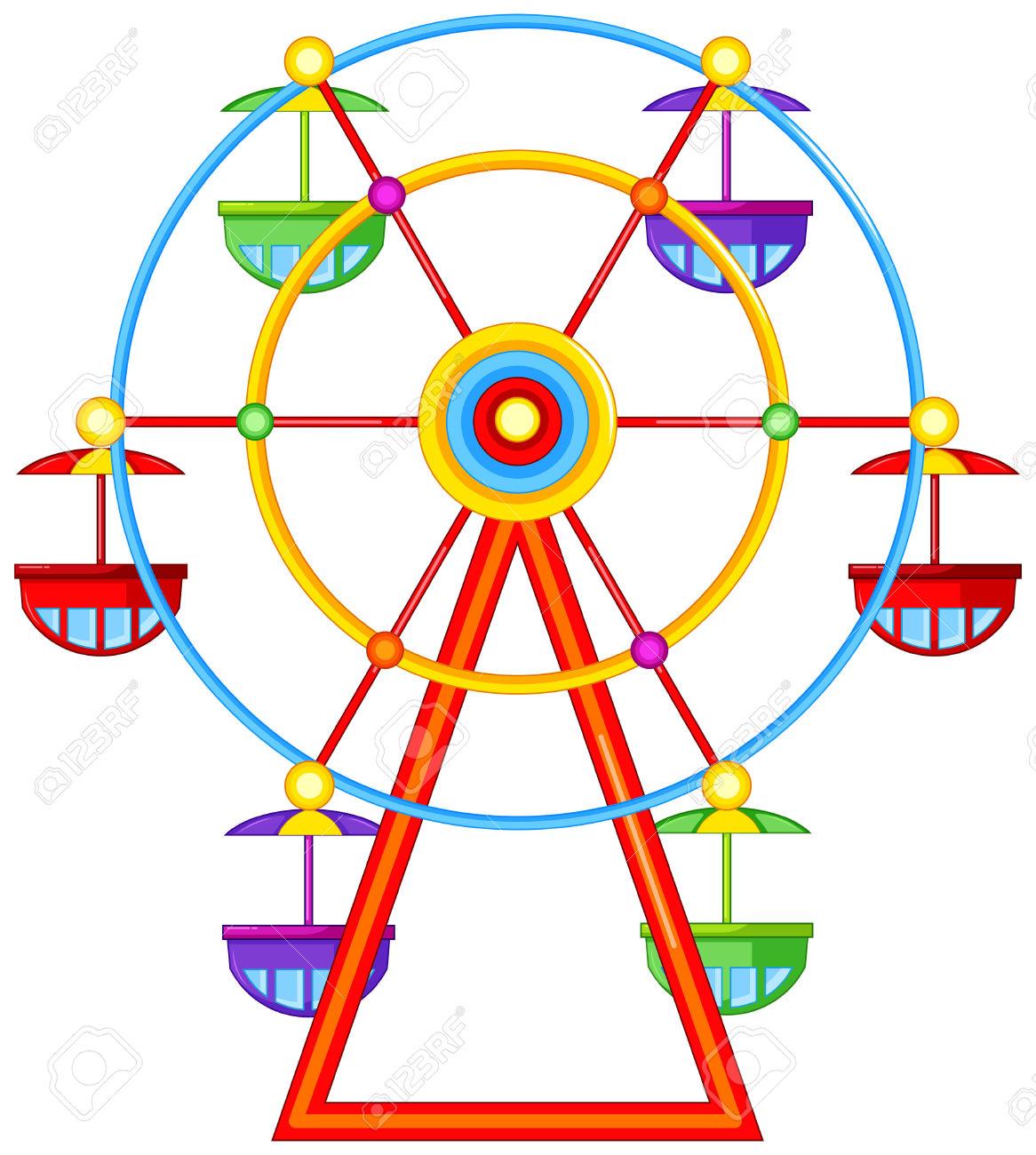 1166x1300 Carnival Ferris Wheel Clipart