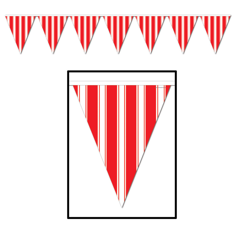 1000x1000 Circus Carnival Big Top Party Decoration Red Amp White Striped