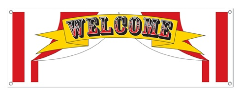 782x320 Carnival Flags,popcorn,concessions,pennant,hot Dog,stand,snack