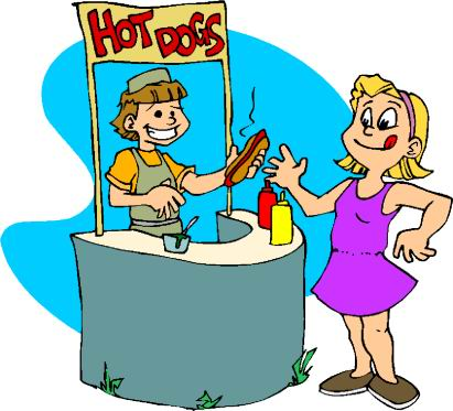411x373 Carnival Clipart Food Booth