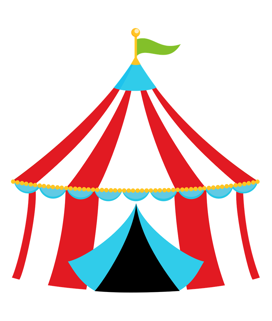 900x1062 Carnival Clipart Vintage Carnival Tent