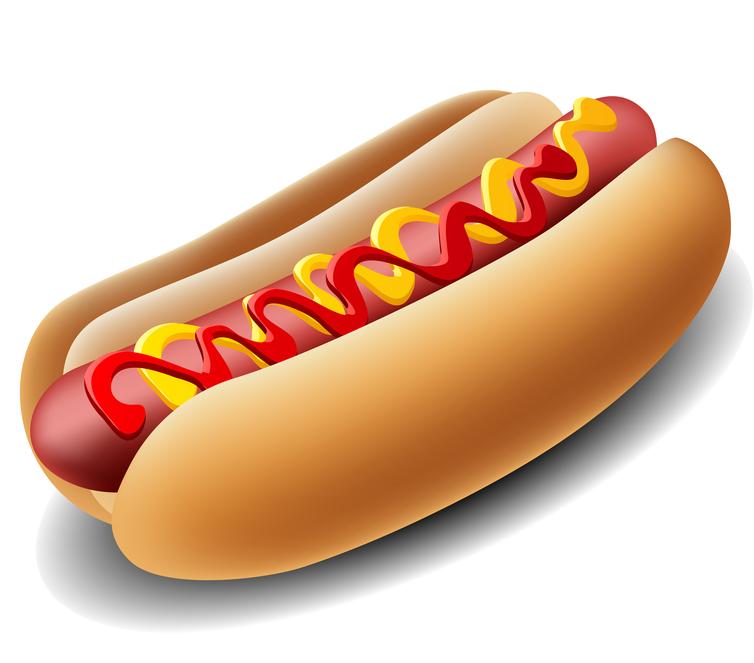754x663 Hot Dog Clipart Carnival