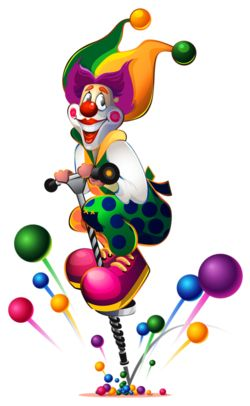 250x406 165 Best Clownin' Images Carnival, Creative Crafts