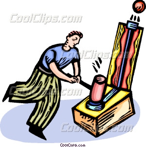 300x302 Man Playing Carnival Games Vector Clip Art