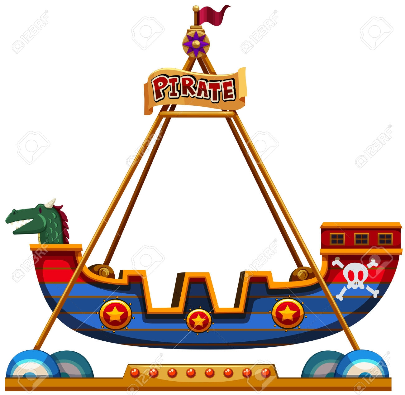 1300x1267 Carnival Rides Clipart