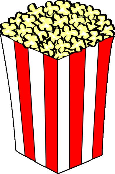 390x592 Carnival Clipart Popcorn Bowl
