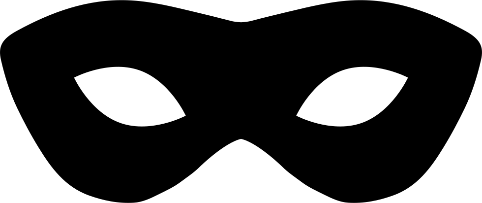 980x412 Carnival Mask Silhouette Svg Png Icon Free Download ( 35134
