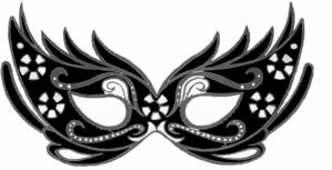 299x153 Mask Clip Art