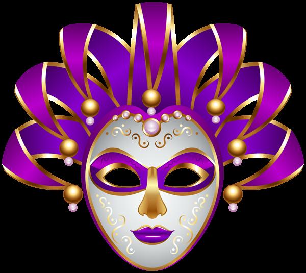 600x535 Purple Carnival Mask Transparent Png Decorative Elements Png