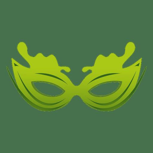 512x512 Travel Green Carnival Mask