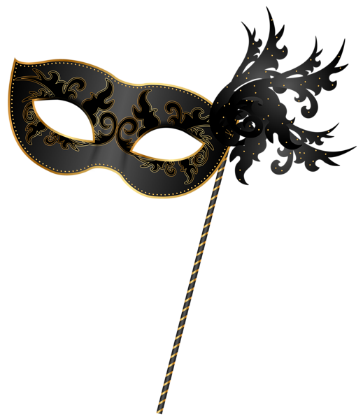 519x600 Carnival Mask Png. Decorative Elements Png