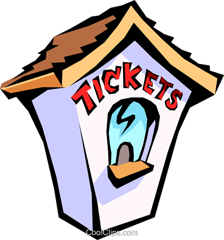 448x480 Ticket Office Clipart