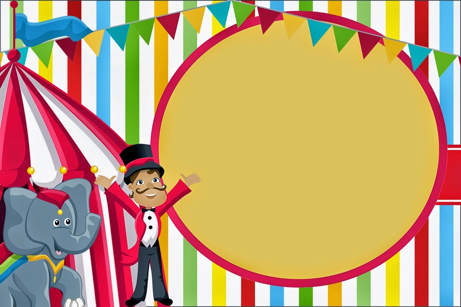 Carnival Ticket Invitation Template Clipart Free