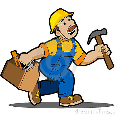 400x398 Carpenter Clipart