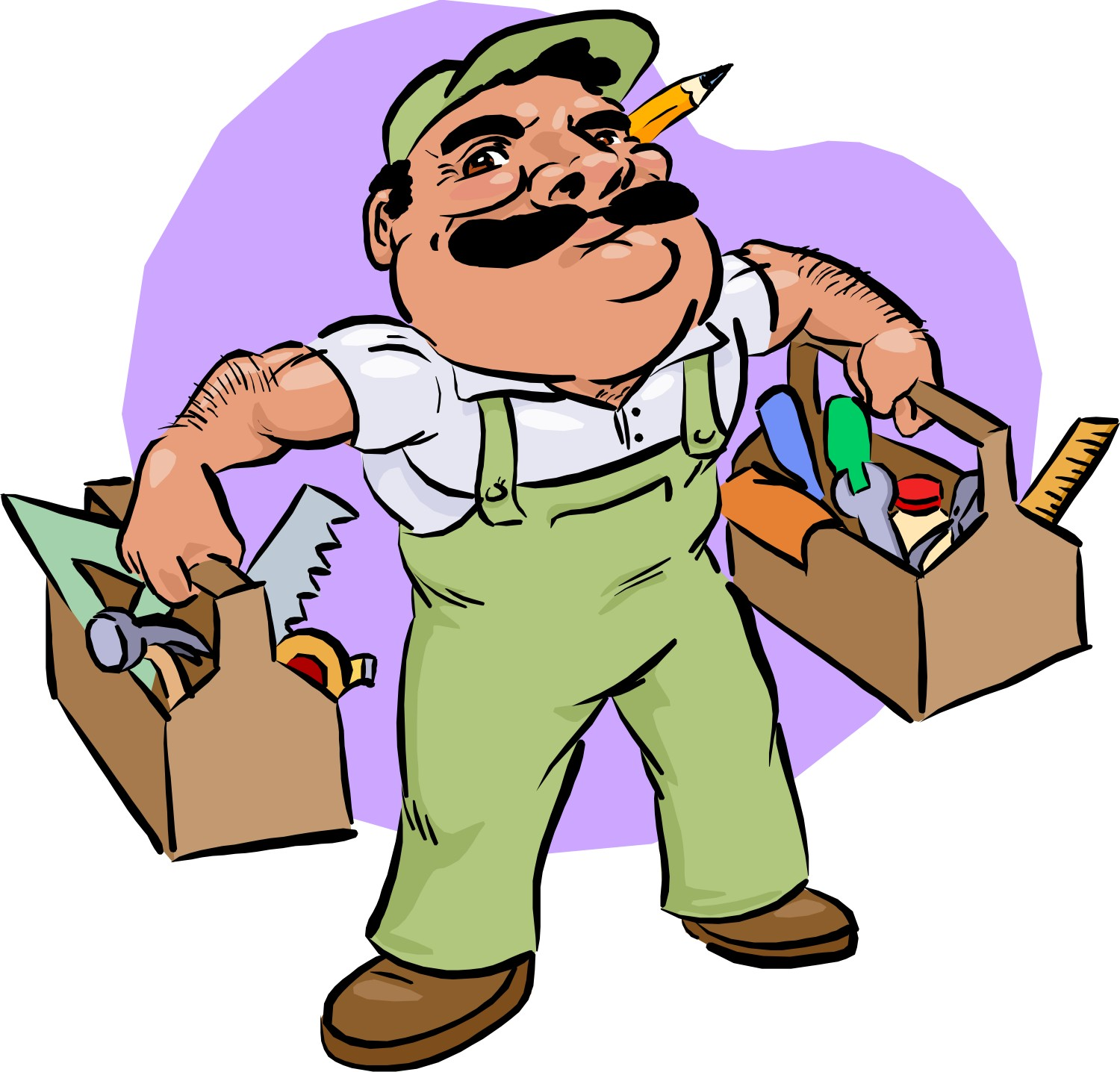 1500x1436 Gallery Clipart Carpenter