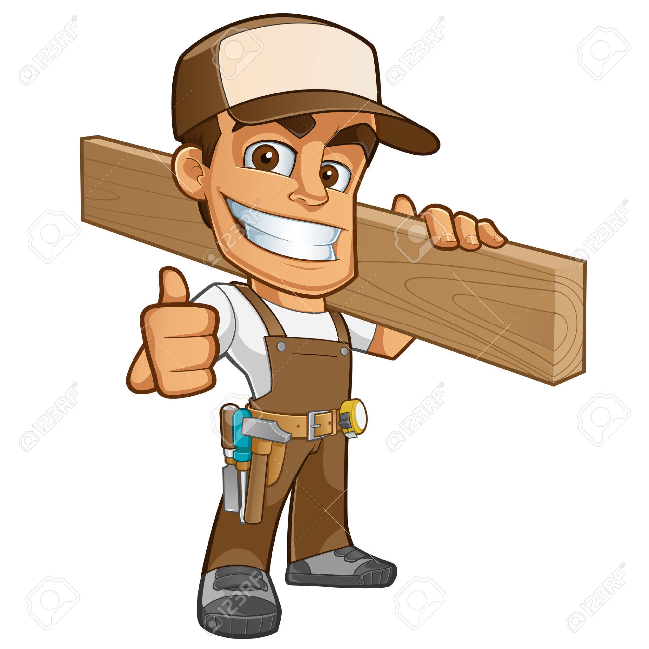 1300x1300 Man Clipart Carpenter
