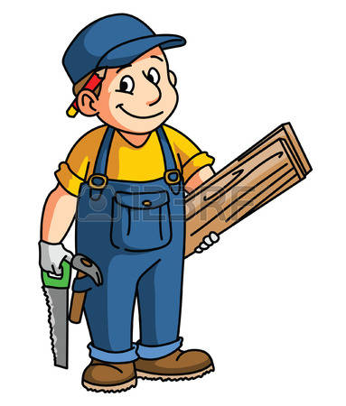 383x450 Uniform Clipart Carpenter