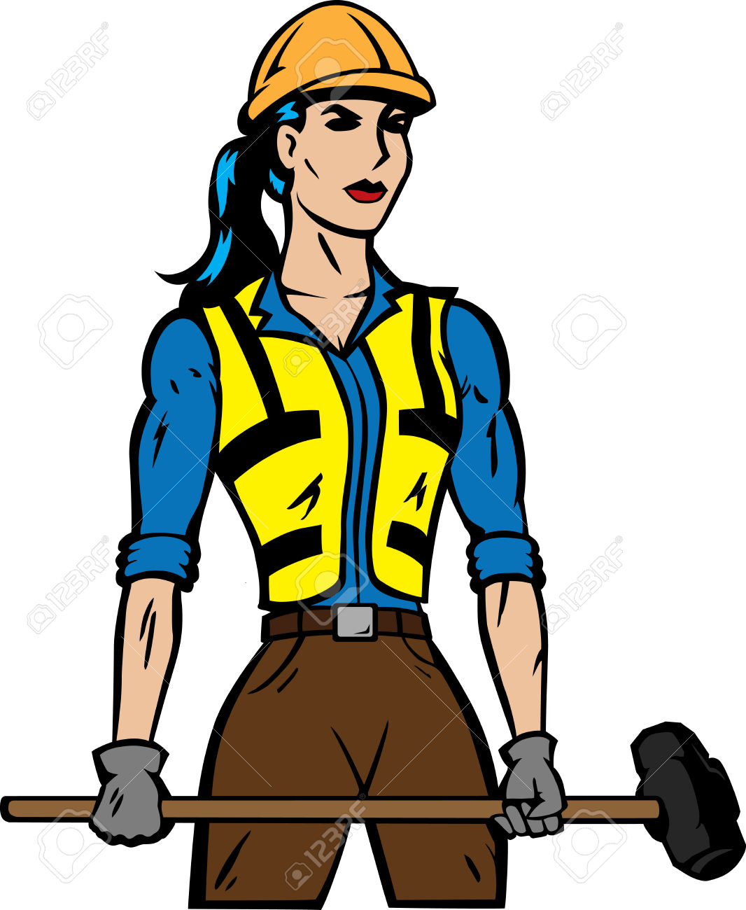 1066x1300 Woman Clipart Carpenter