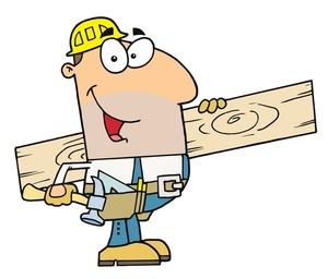 300x256 Carpenter Clipart Image