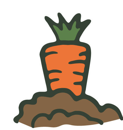 423x447 Carrot Clipart Carrot Garden