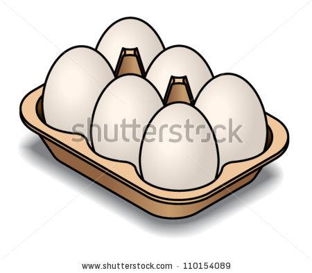 450x394 Ham Clipart Egg Carton