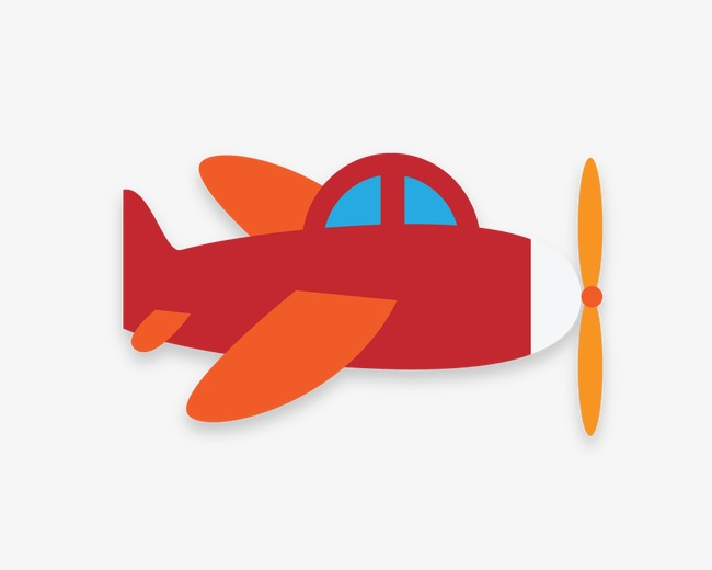 650x520 Aircraft,cartoon Airplane,red, Aircraft, Cartoon Airplane, Red Png