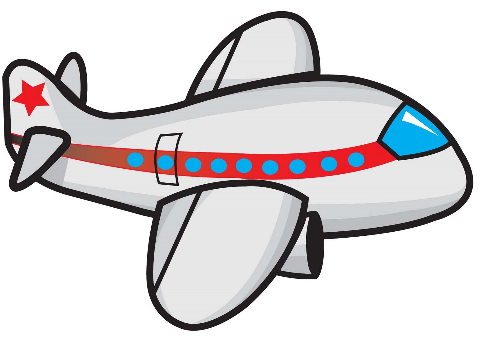 1600x1100 Cartoon Airplane Clipart