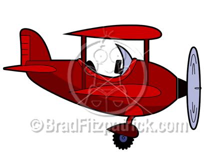 432x324 Cartoon Airplane Clipart Picture Royalty Free Air Plane Clip Art