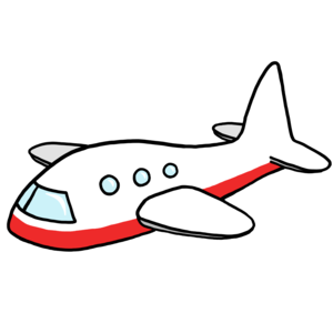 300x300 Cartoon Airplane Png Clipart