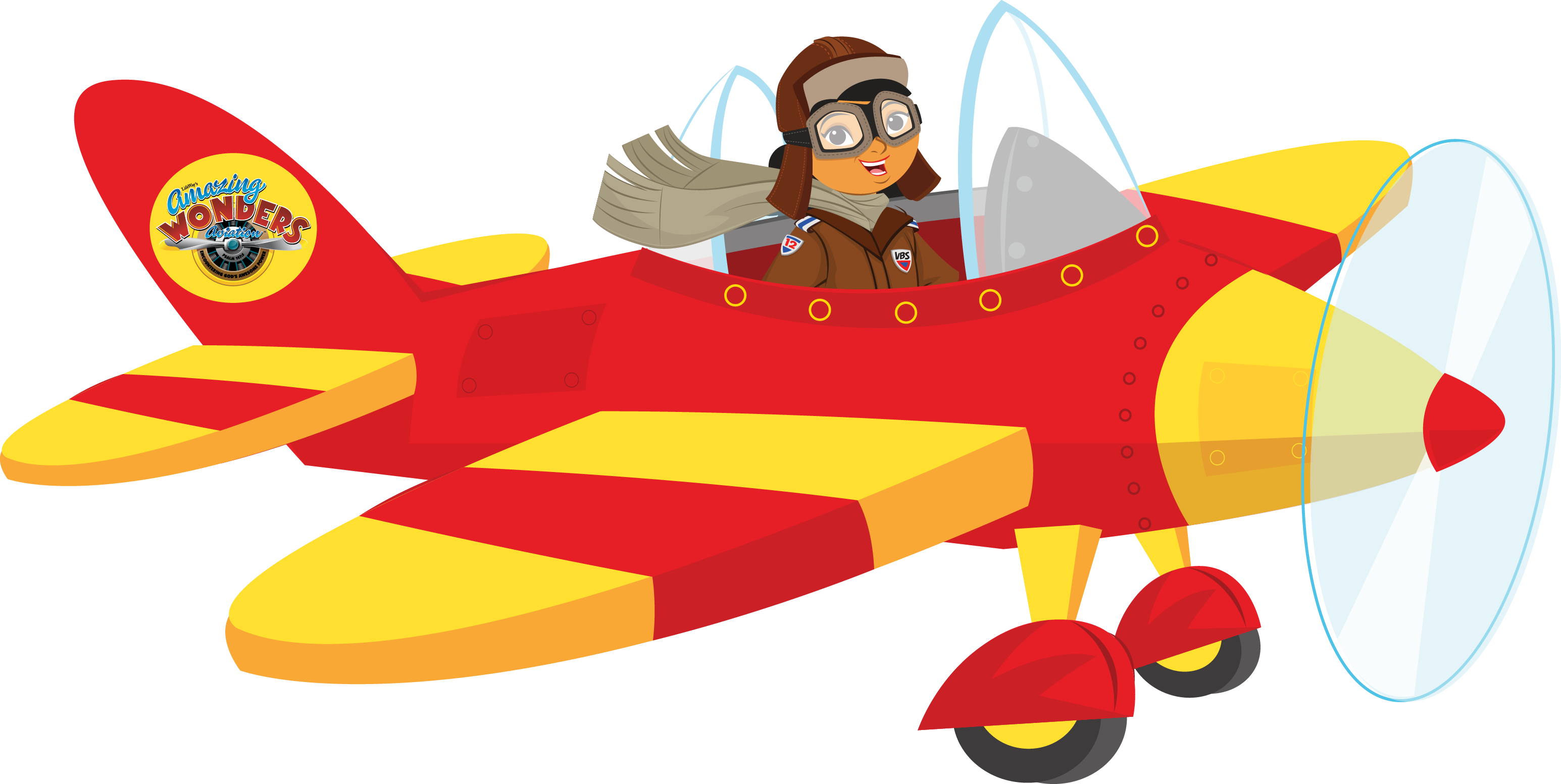 3091x1553 Cartoon Airplane With Pilot Png Clipart
