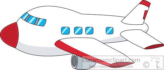 550x235 Aircraft Clipart airplane clipart cartoon style 5772