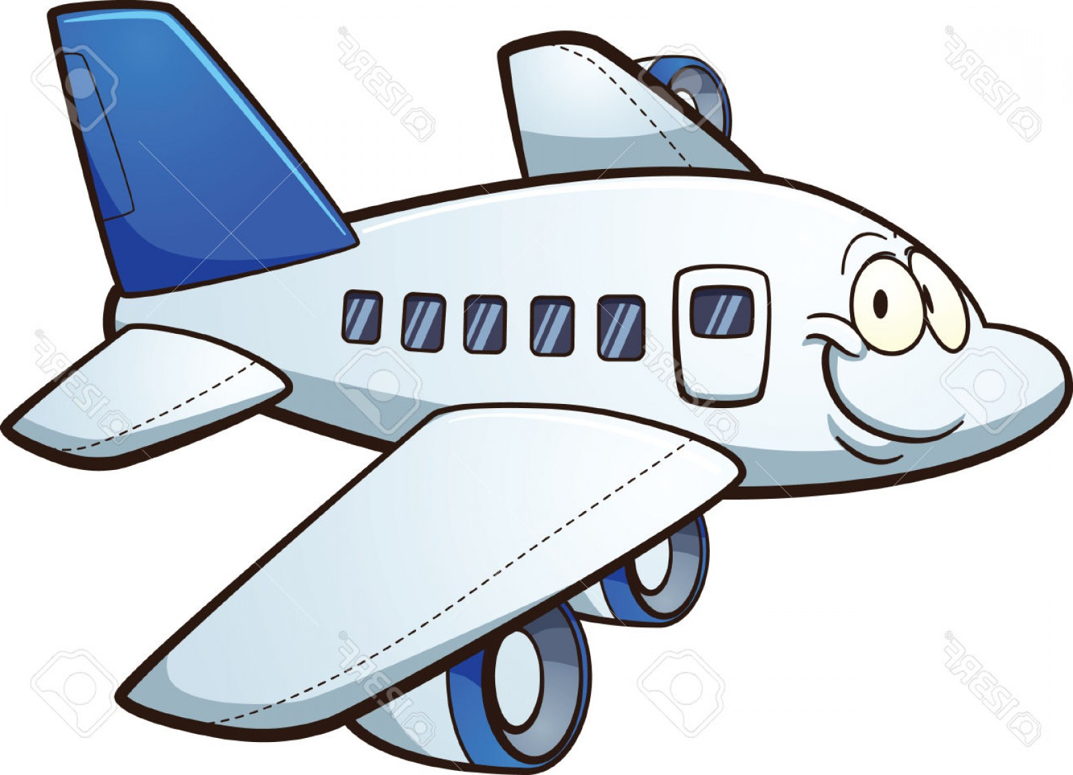 1560x1128 Airplane Cartoon Clipart 101 Clip Art