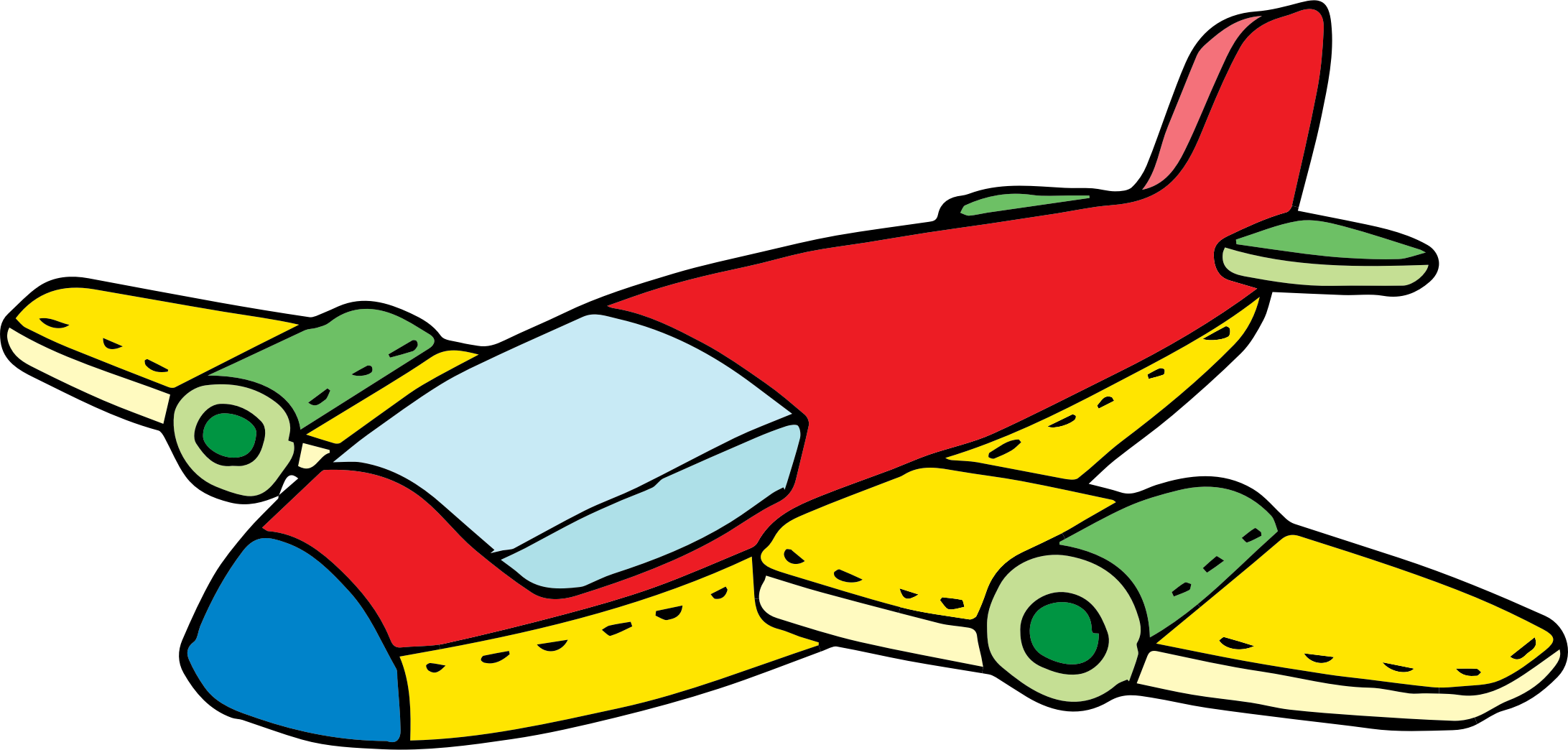 Cartoon Airplane Image | Free download on ClipArtMag
