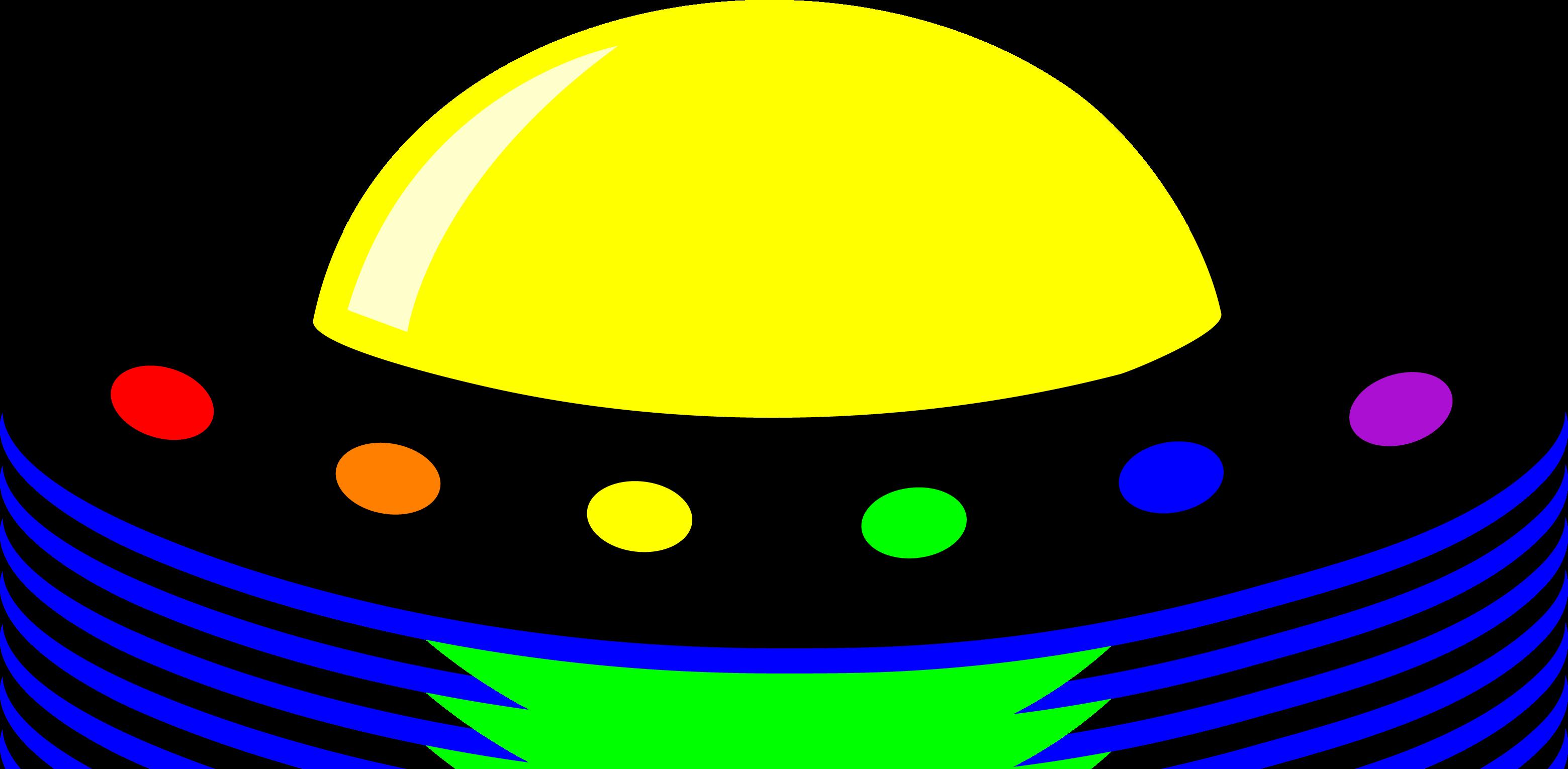 3119x1530 Cartoon Alien Spaceship Clipart