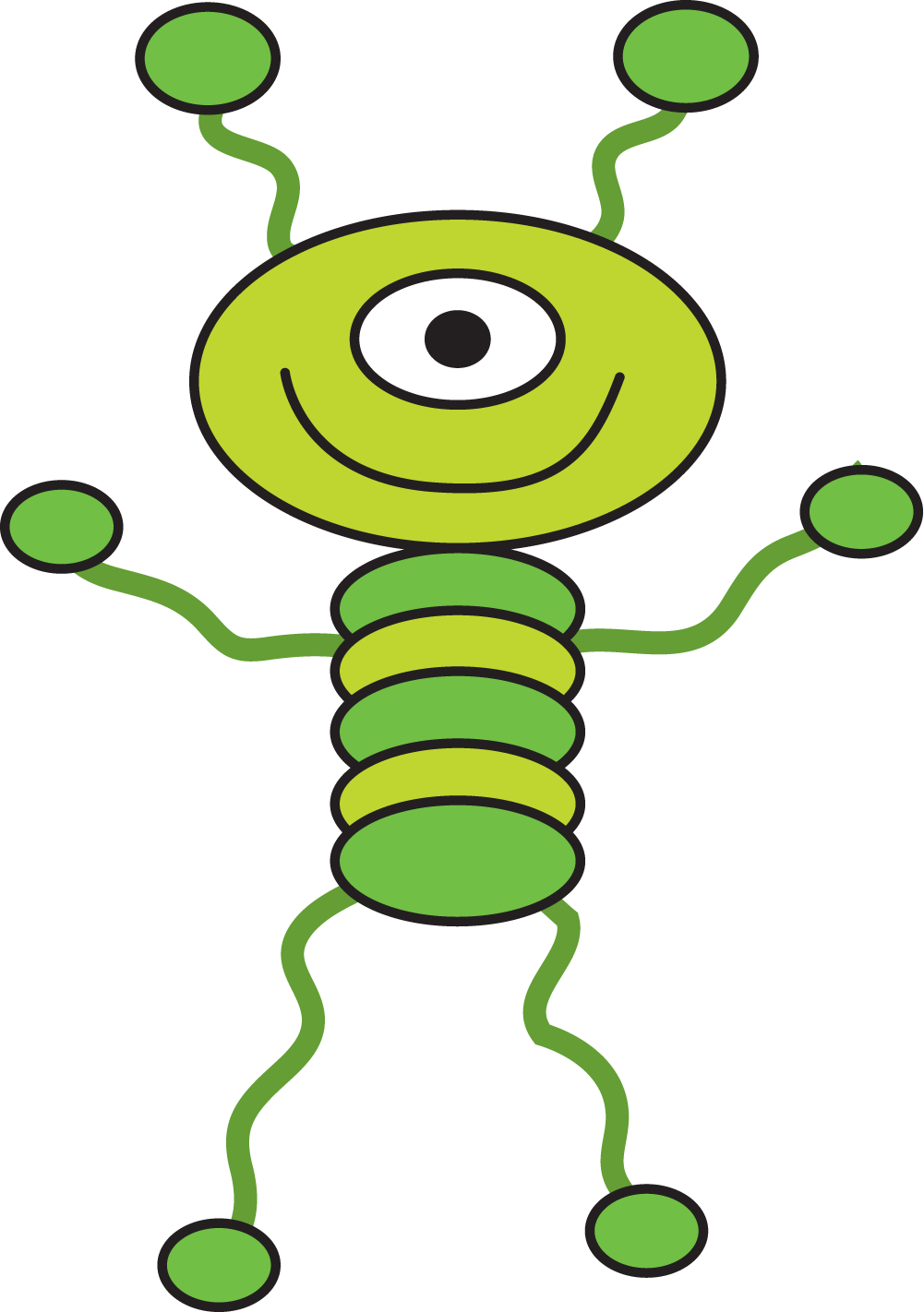 Cartoon Alien Clipart   Free download on ClipArtMag