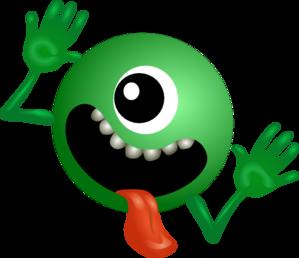299x258 One Eyed Alien Clip Art