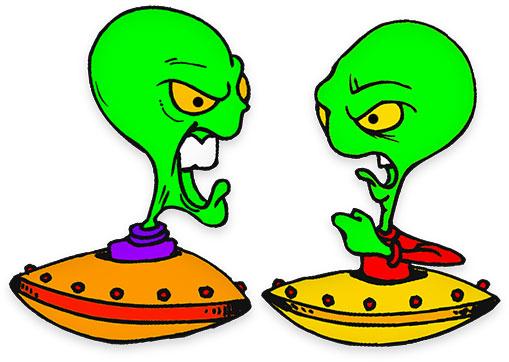 509x362 Alien Clipart Science Fiction