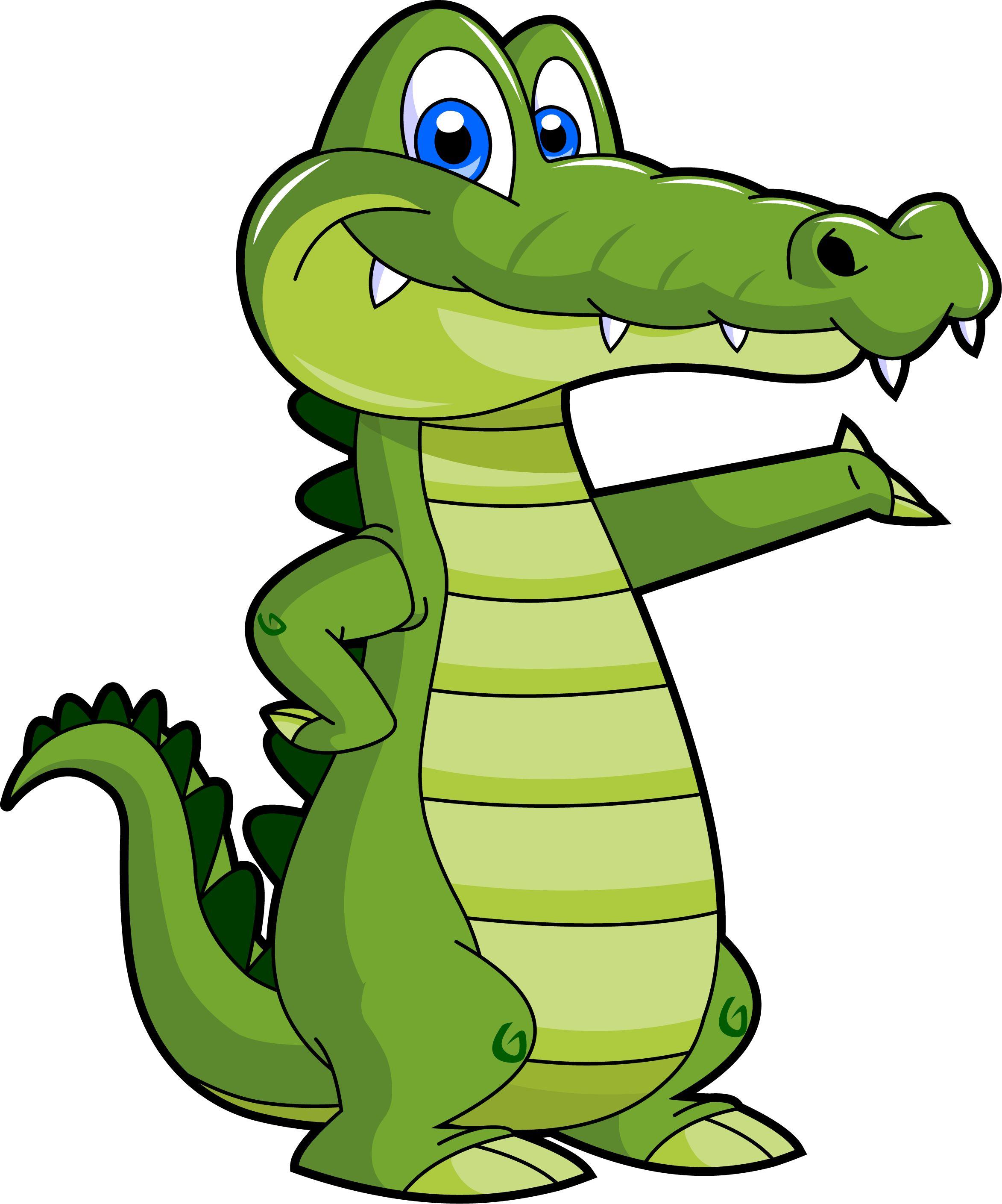 2346x2817 Girls Alligator Cartoon Clipart