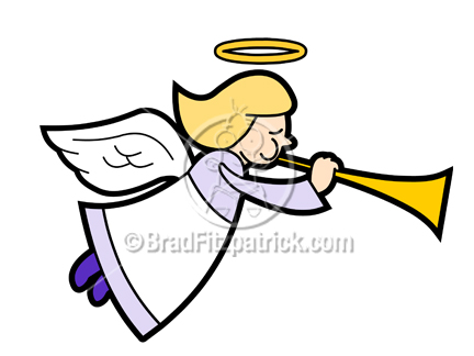 432x324 Cartoon Angel Clipart Character Royalty Free Angel Picture