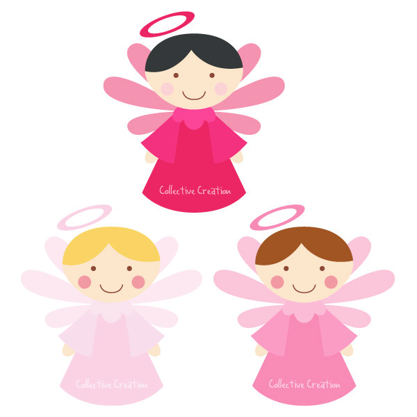 600x600 Free Baby Angel Clip Art