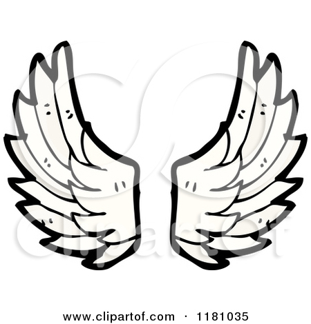 Cartoon Angel Wings Clipart
