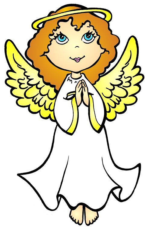 angel cartoon clipart angels cliparts christmas coloring clip wings library google pages profile pretty clipartbest clipartmag attribution forget link don