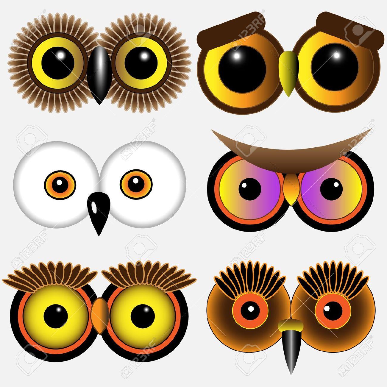 1300x1300 Eyeball Clipart Owl Eyes