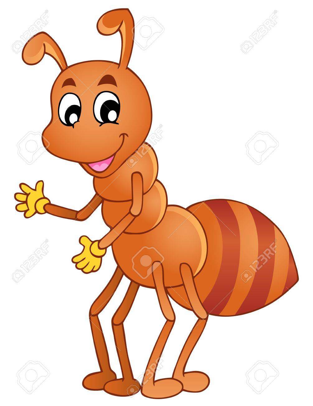 Cartoon Ant Pictures