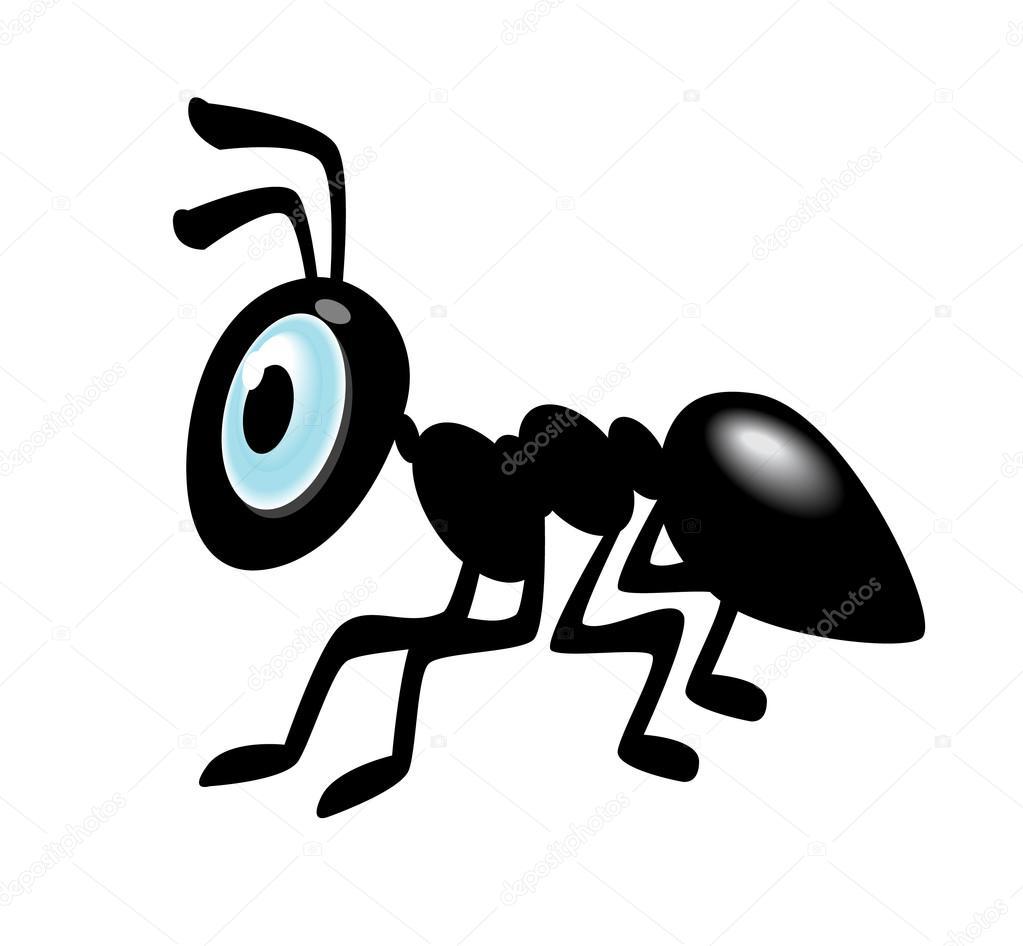 1023x946 Ant Cartoon Icon Stock Vector Kk Inc