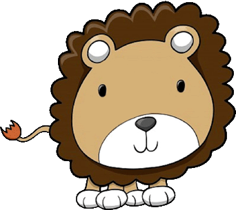 342x305 Animated Zoo Clipart